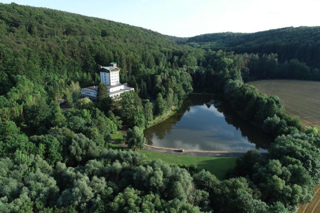 Blick auf Hotel Reifenstein aus der Vogelperspektive