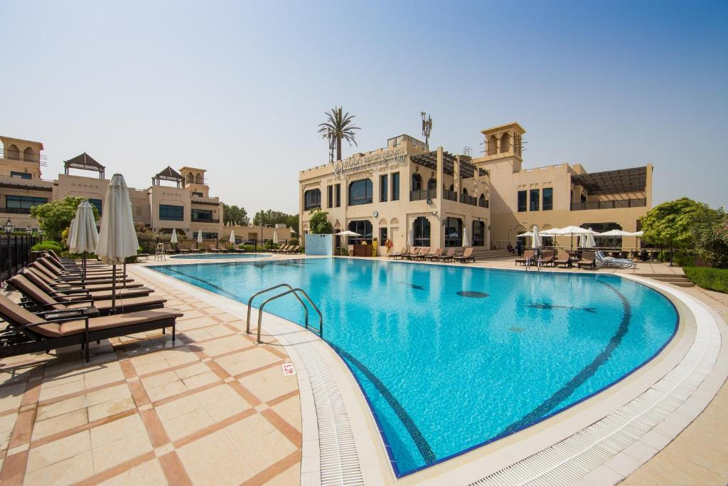 The swimming pool at or close to Roda Beach Resort