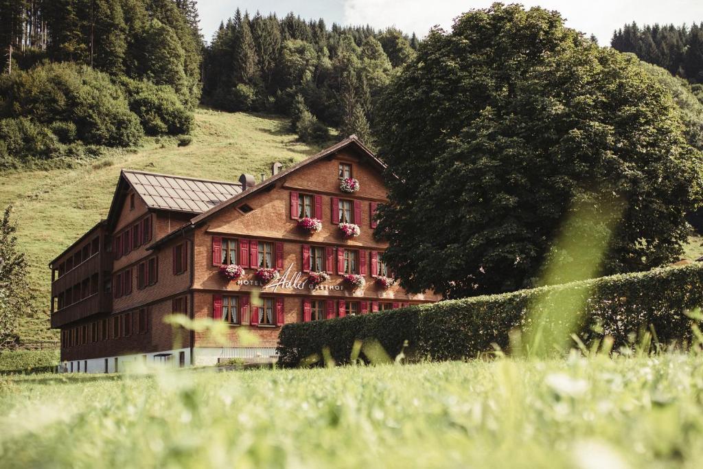 Hotel Gasthof Adler Schoppernau, Austria