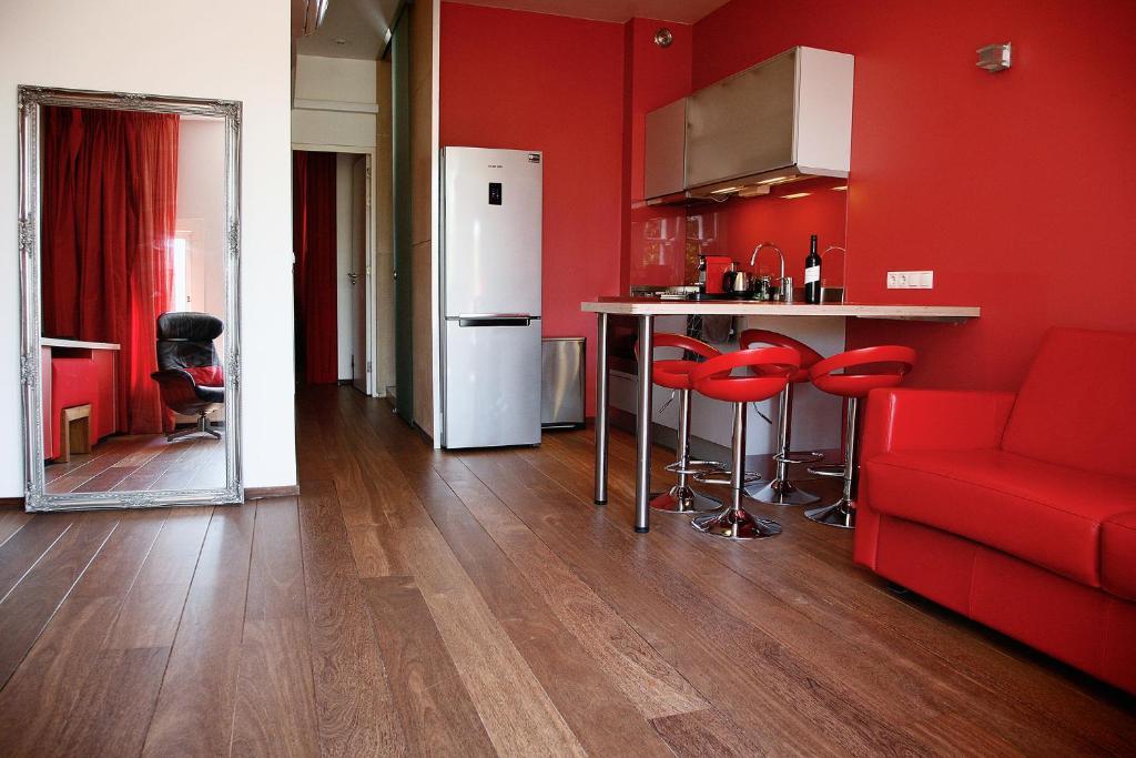 Küche/Küchenzeile in der Unterkunft Prinsenhuis