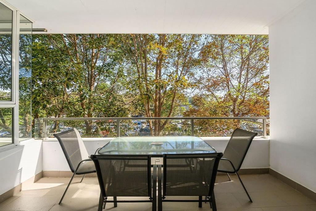 A balcony or terrace at Fresh Air