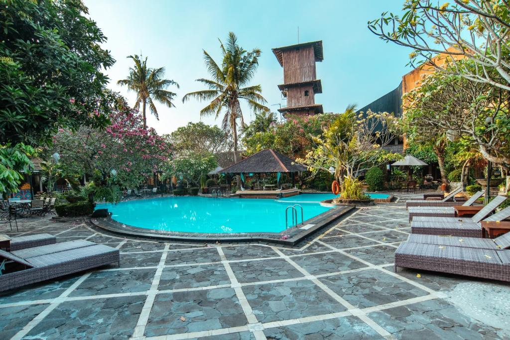The swimming pool at or near Jogja Village