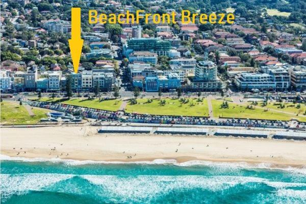 A bird's-eye view of Bondi Beach Front Breeze