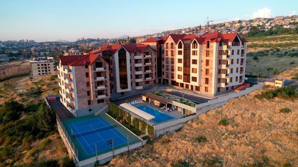A bird's-eye view of Panorama Resort&Suites
