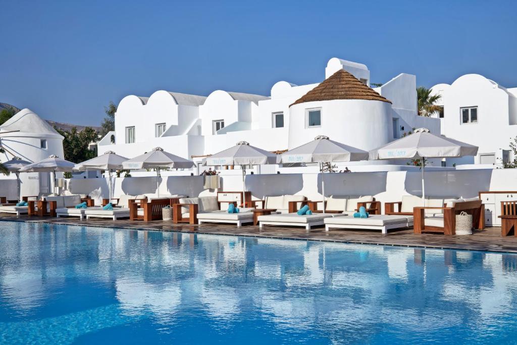 Nikki Beach Resort Spa Santorini Kamari Greece Booking Com