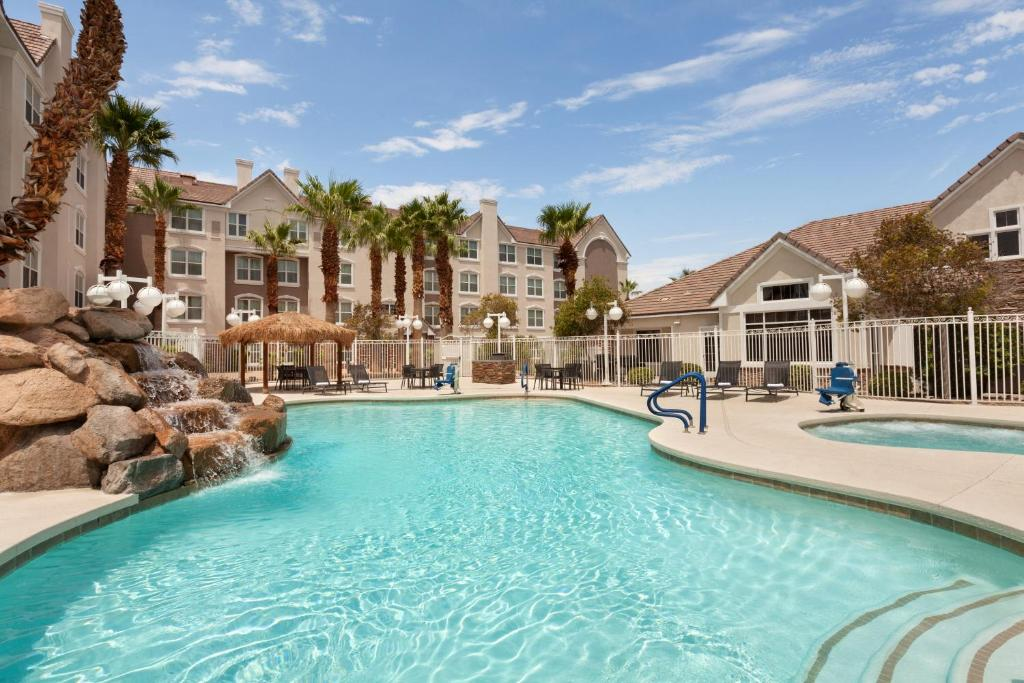The swimming pool at or close to Residence Inn Las Vegas South