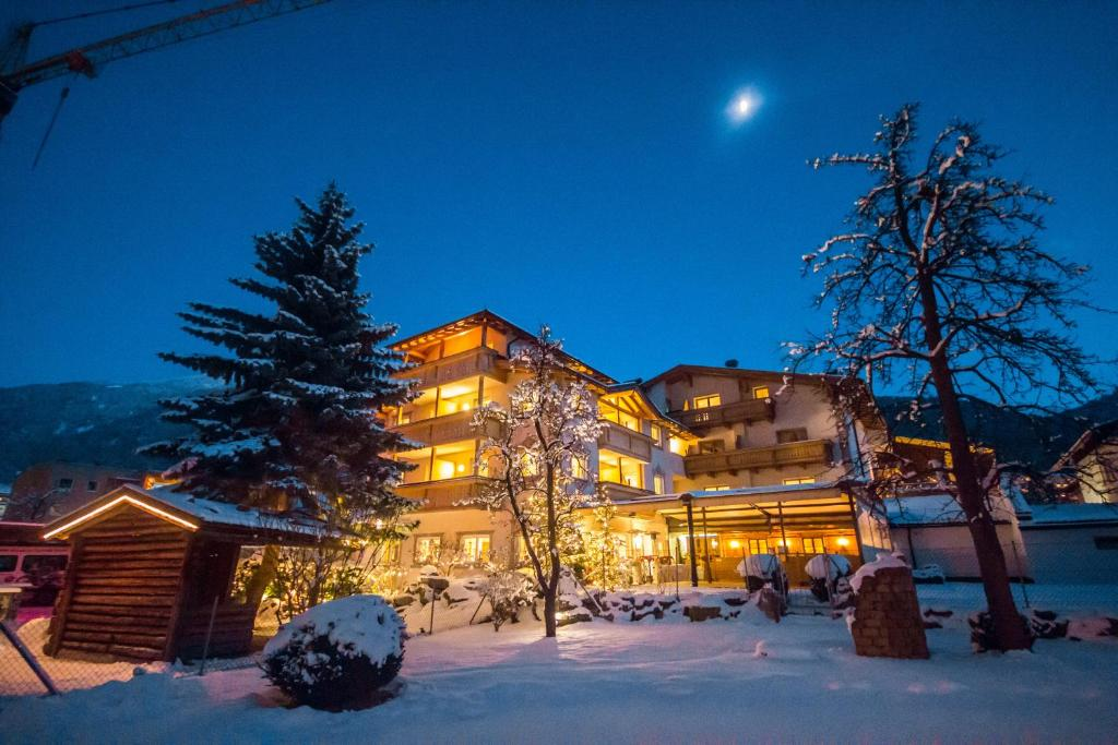 Hotel Enzian during the winter