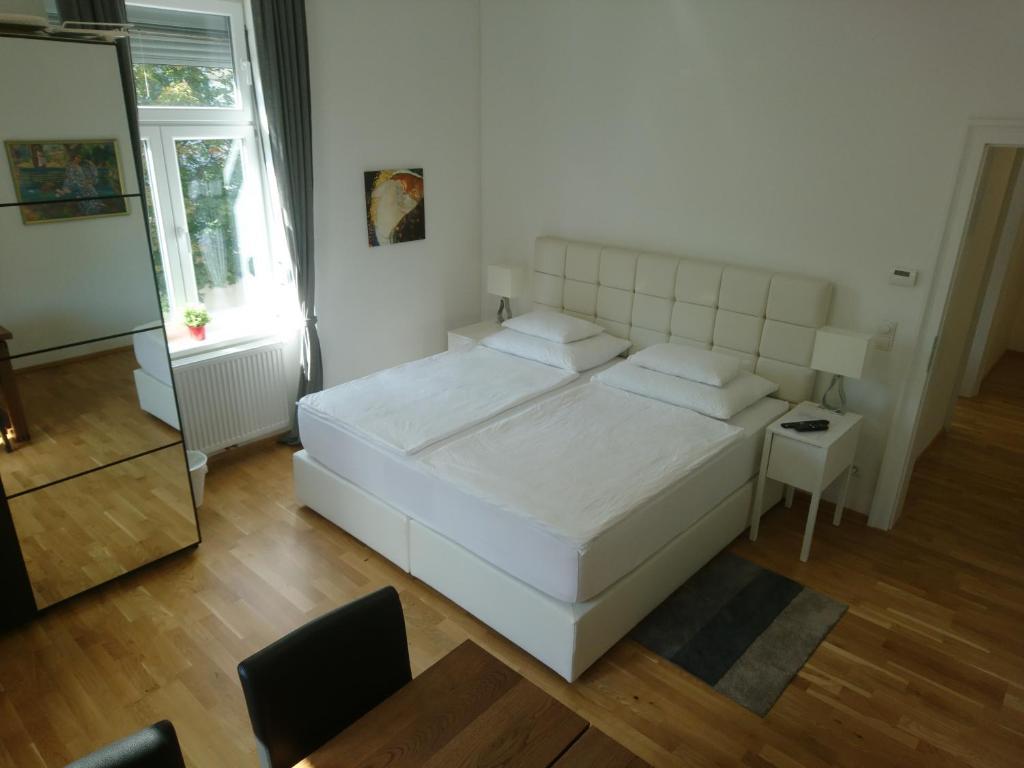 Postel nebo postele na pokoji v ubytování Sweet Dreams