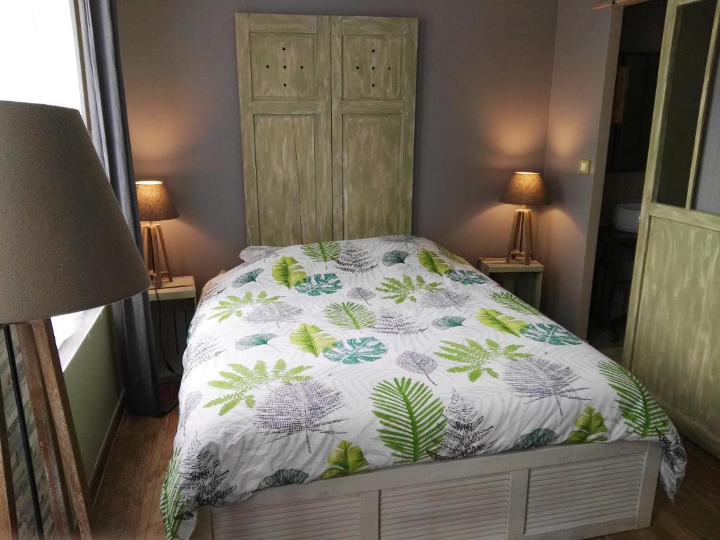 Un ou plusieurs lits dans un hébergement de l'établissement Le Presbytère