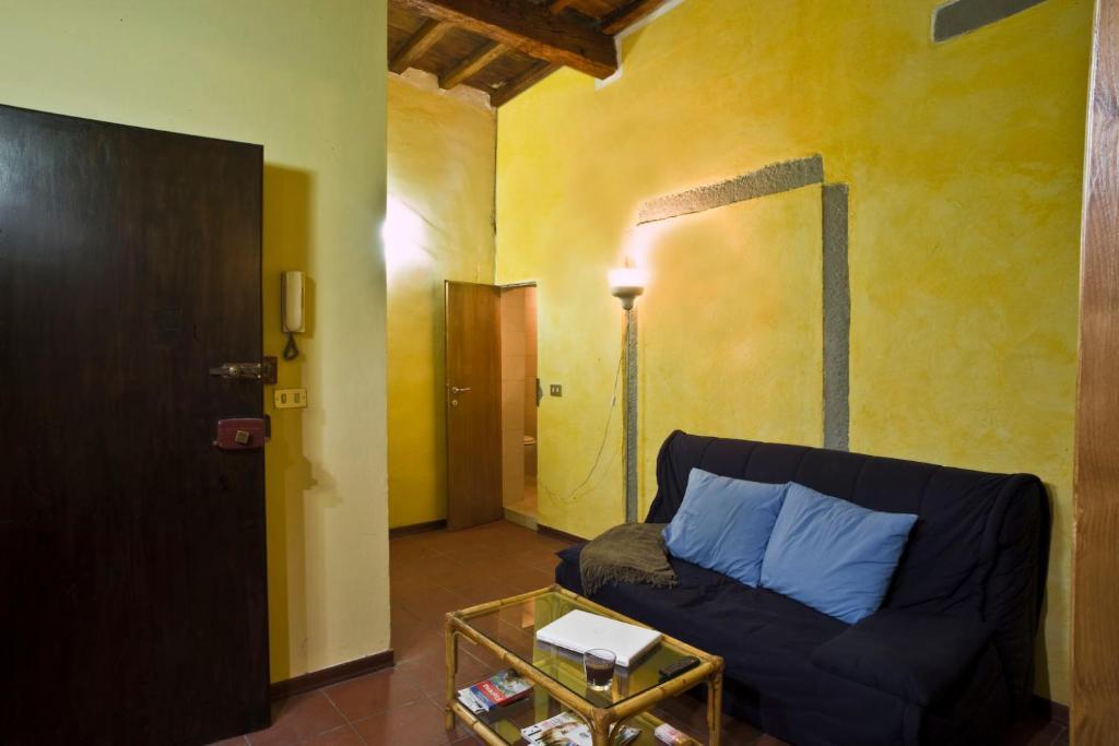 Zona de estar de Appartamenti Ruggini