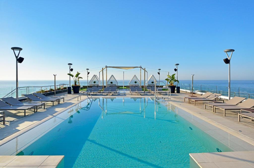 The swimming pool at or close to Melia Costa del Sol