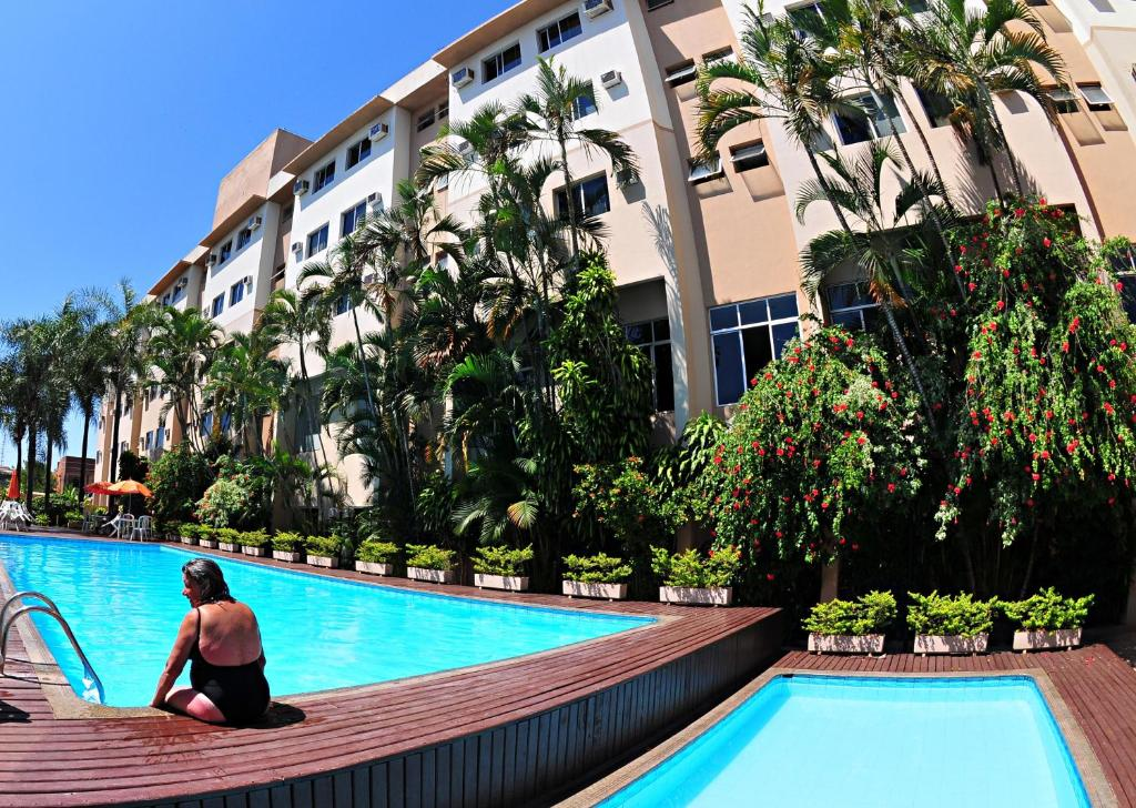 The swimming pool at or near Lider Palace Hotel