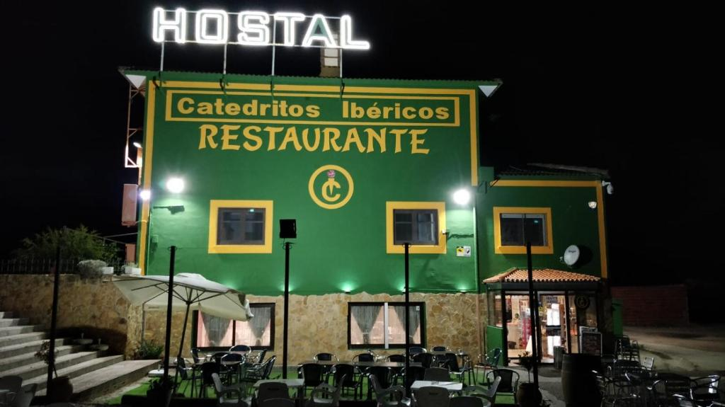 Hostal Catedritos Ibéricos A-5 Km 154