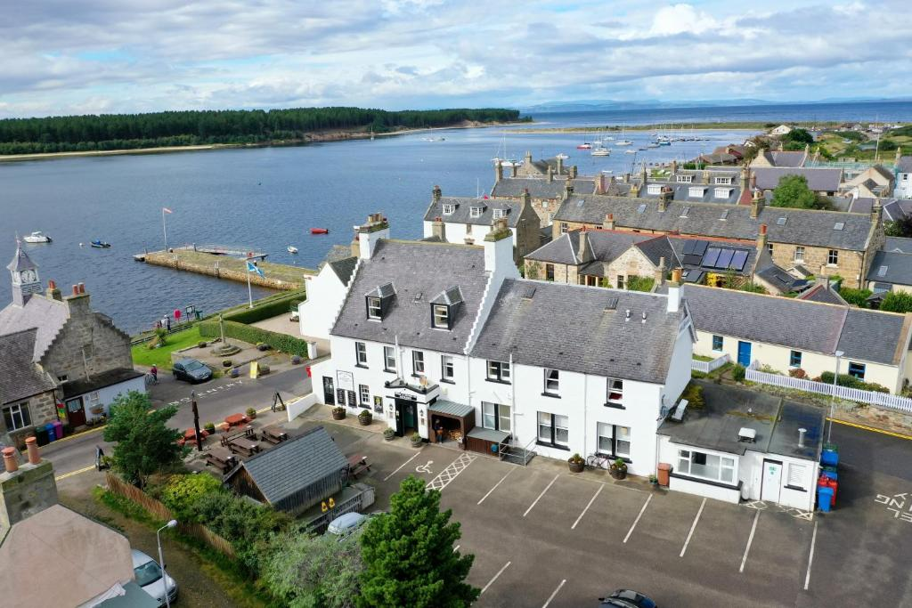 A bird's-eye view of Crown and Anchor Inn