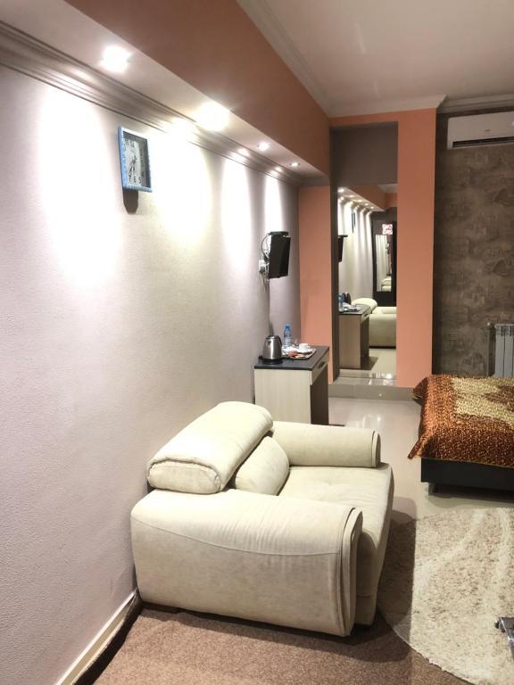 Гостиная зона в Guest House Dzerzhinsky