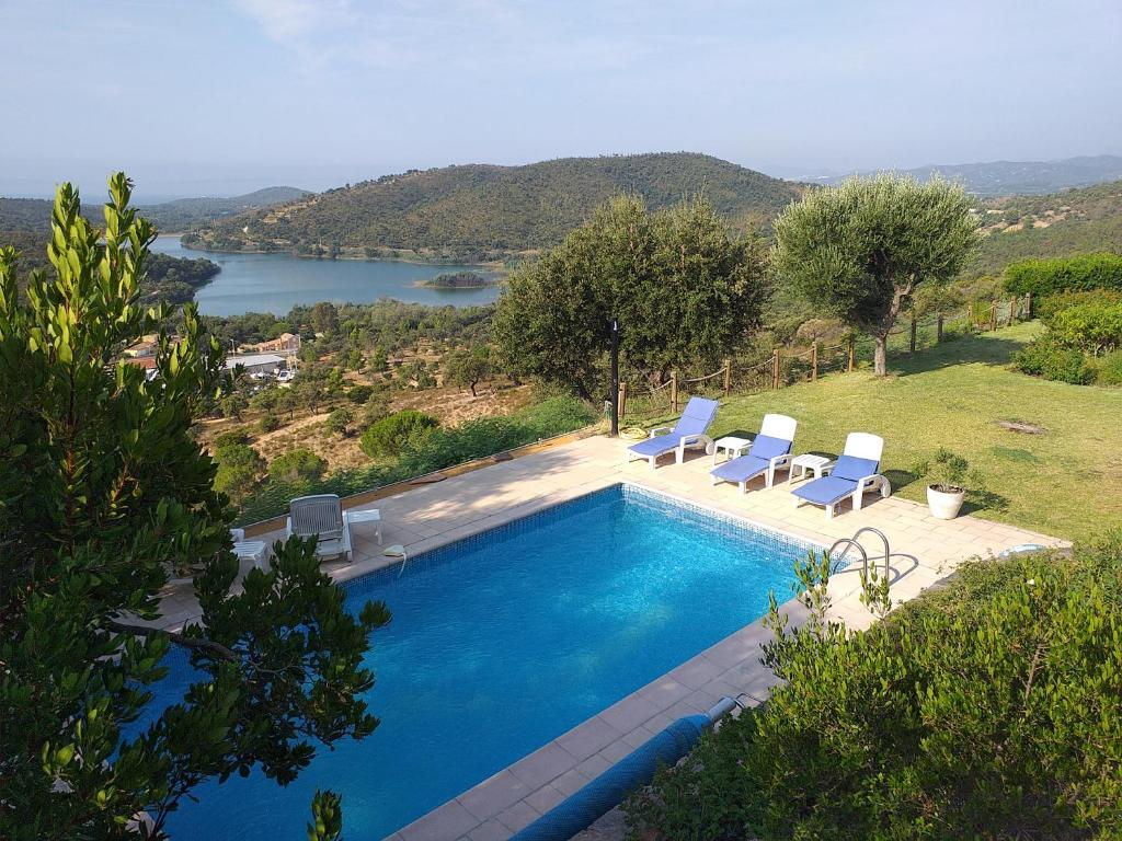 A view of the pool at Merveille or nearby