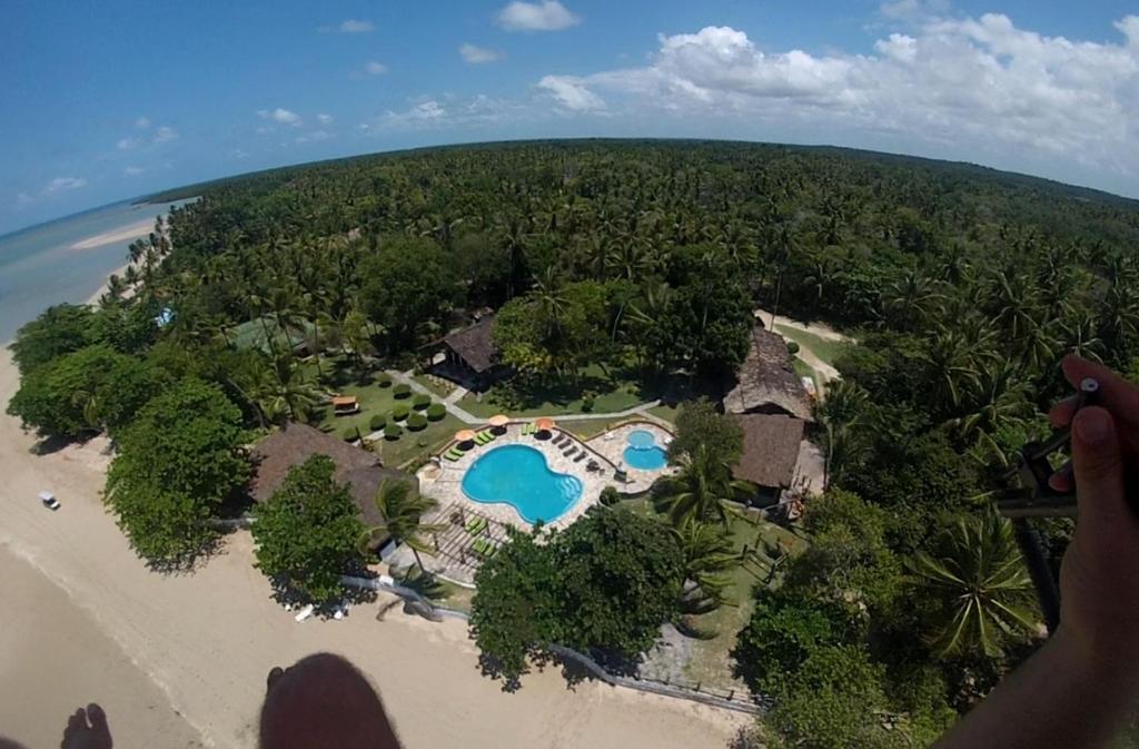 A bird's-eye view of Hotel Praia do Encanto