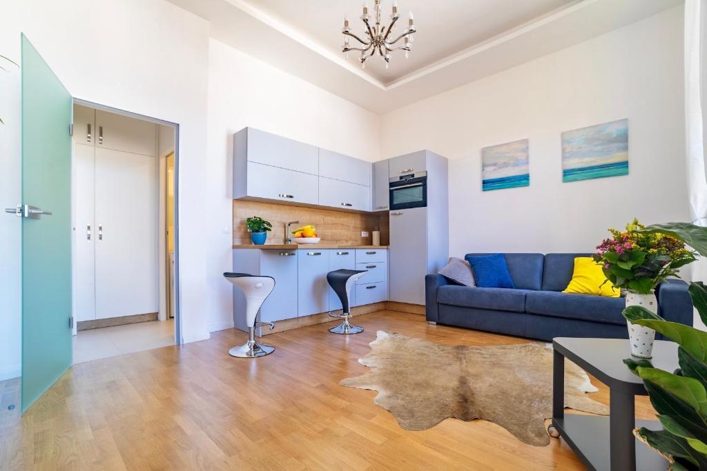 Posezení v ubytování Ines apartment Prague