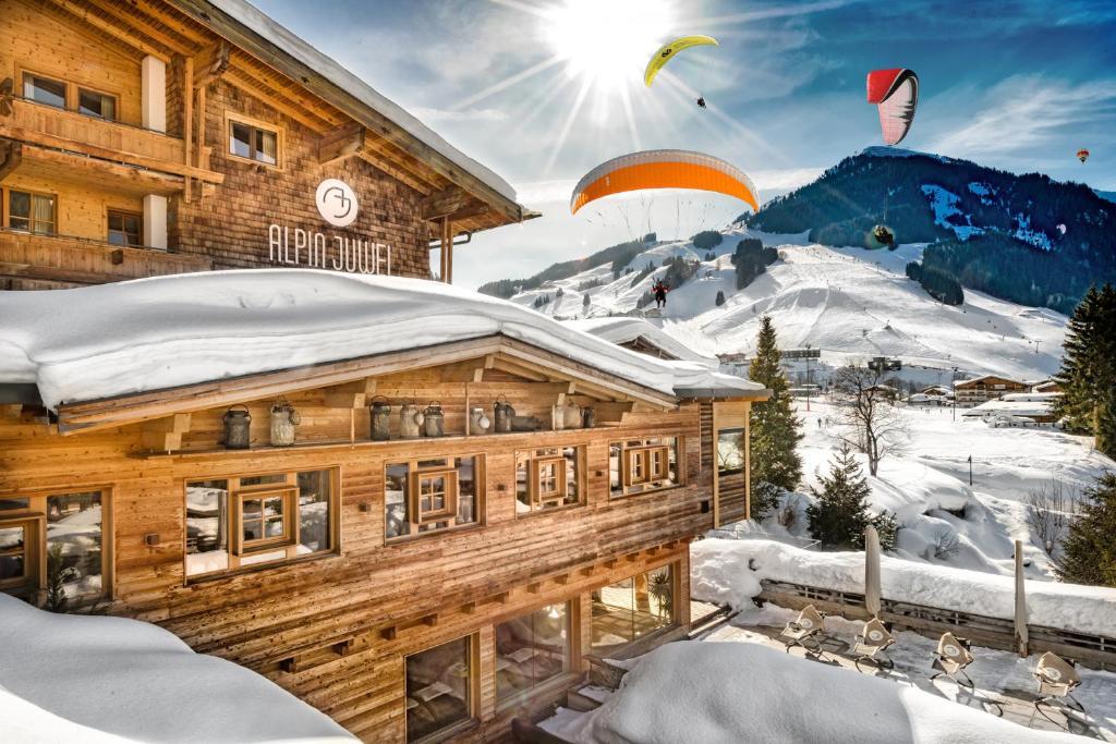 Alpin Juwel im Winter