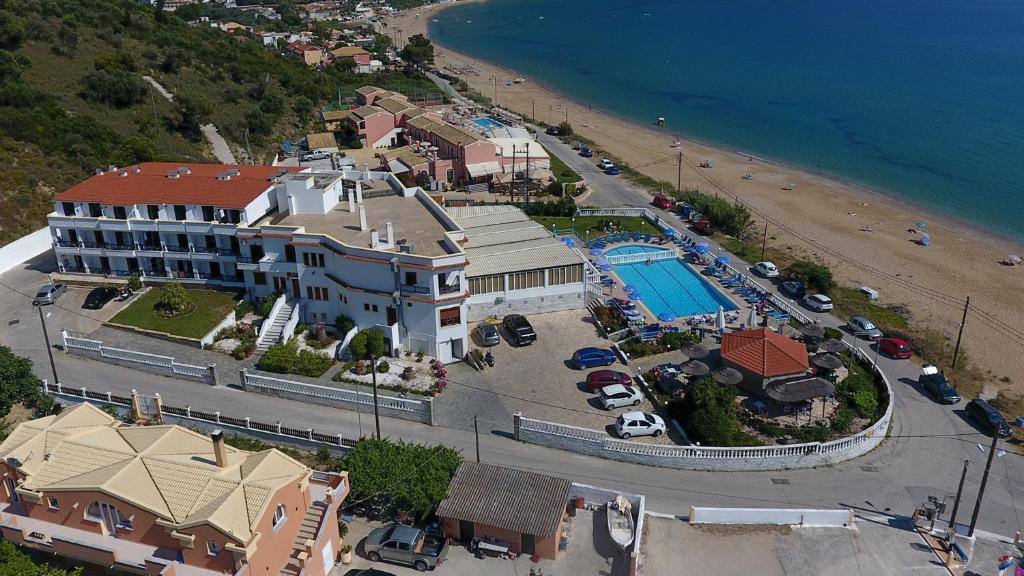 A bird's-eye view of Belle Helene Hotel