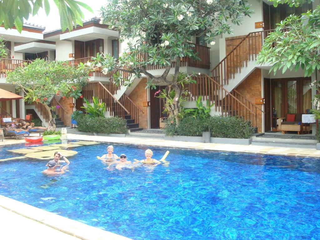 The swimming pool at or close to Rama Garden Hotel Bali