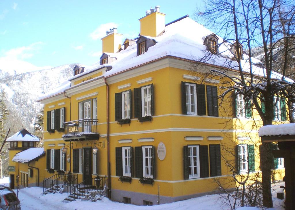 Villa Solitude during the winter