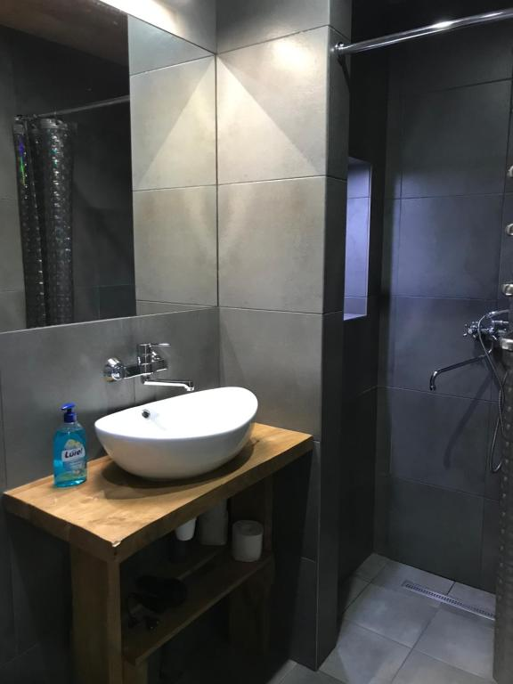 A bathroom at Guest house Alphouse