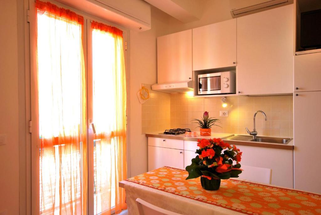 Cucina o angolo cottura di Residence Glicini