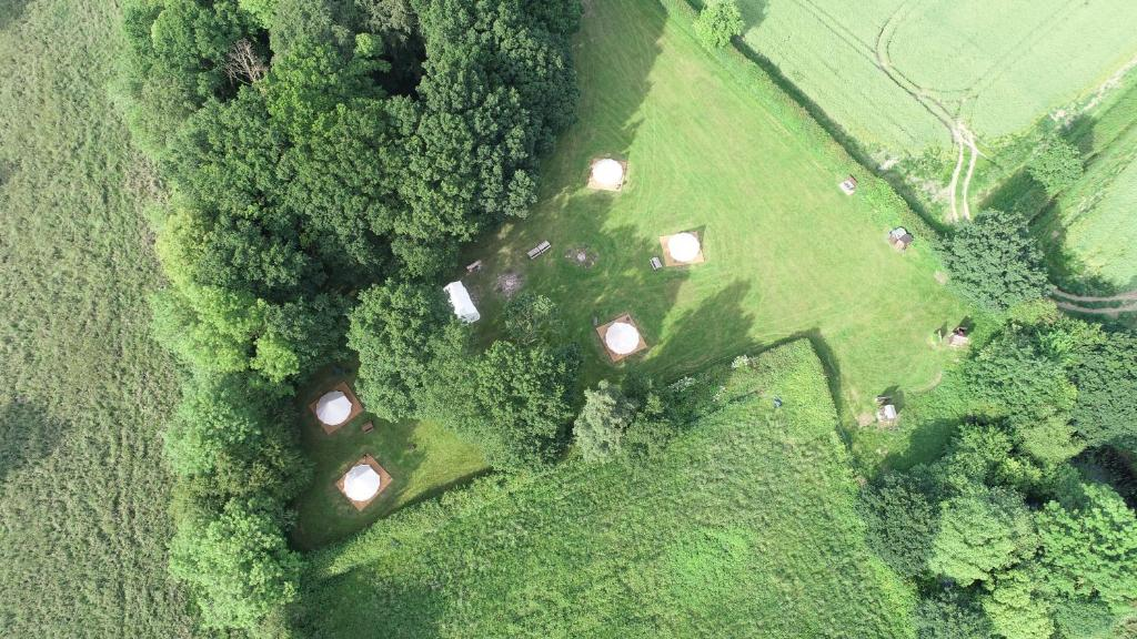 A bird's-eye view of Gorsey Meadow, Norfolk