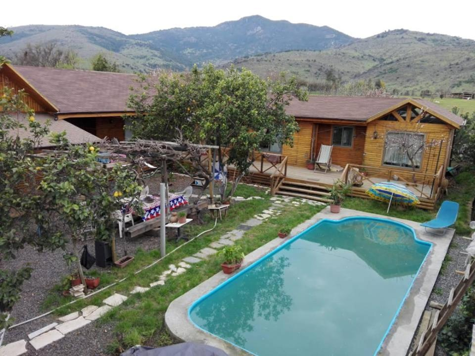 The swimming pool at or near CABAÑAS VILLA PRAT