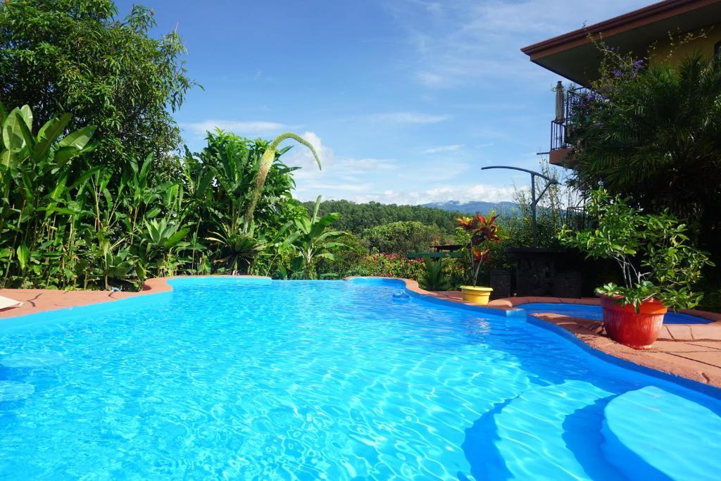 The swimming pool at or near B&B Hotel Vista Linda Montaña