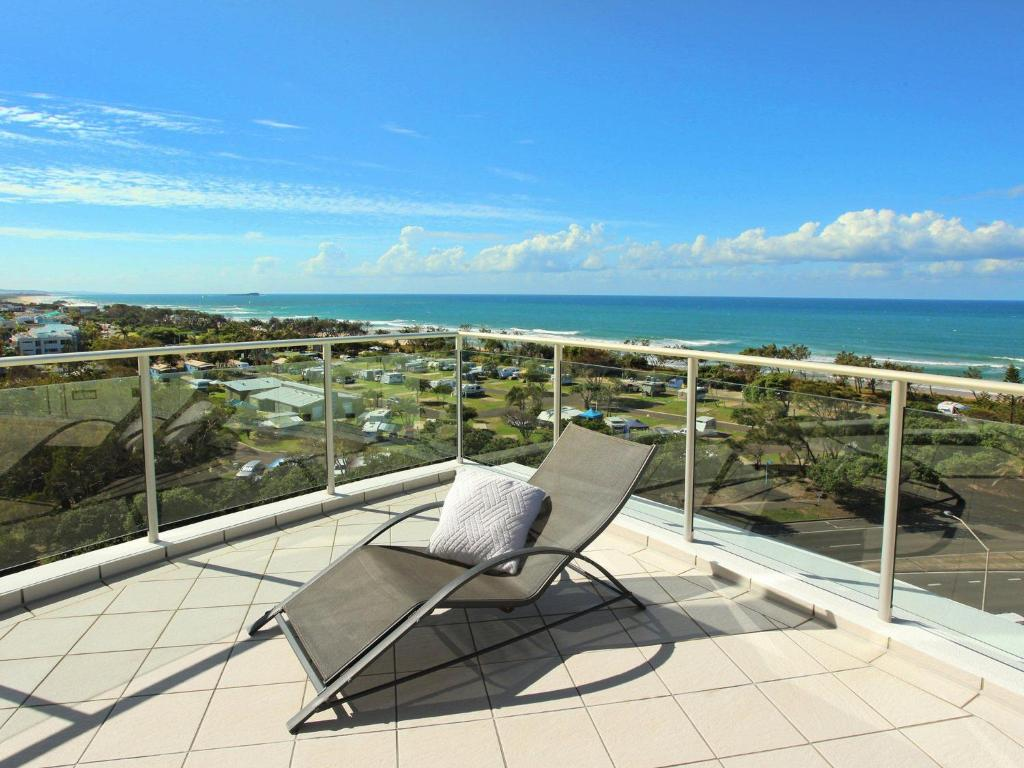 A balcony or terrace at Sebel 808 by G1 Holidays