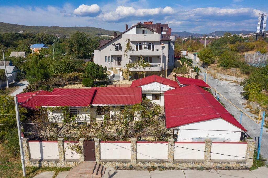 Guest House Domik U Morya с высоты птичьего полета