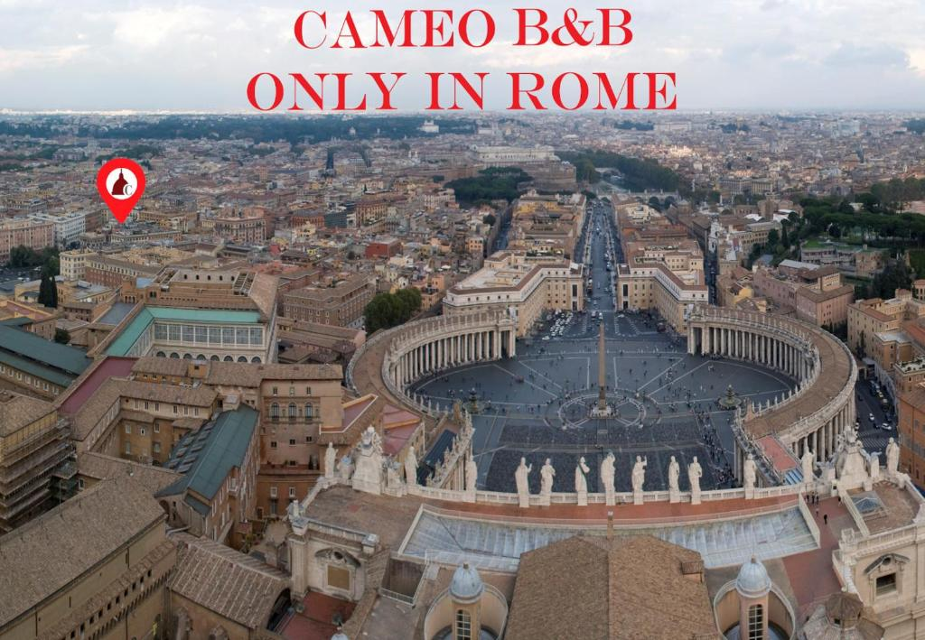 Vista aerea di Cameo B&B