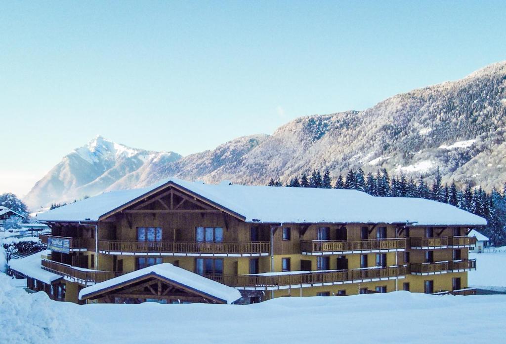 L'établissement Vacancéole - Résidence Grand Massif en hiver