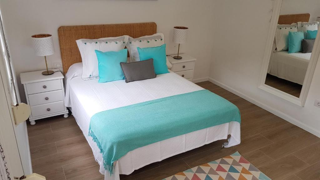 A bed or beds in a room at LA SALINA