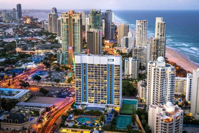 Hotel Studio With Ocean View At Surfers Paradise L9 Gold Coast Updated 2020 Prices