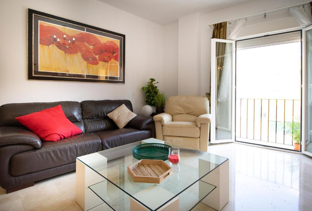 Zona de estar de Apartamento Don Pedro