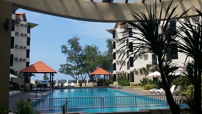 The swimming pool at or near Samsuria Beach Resort & Residence