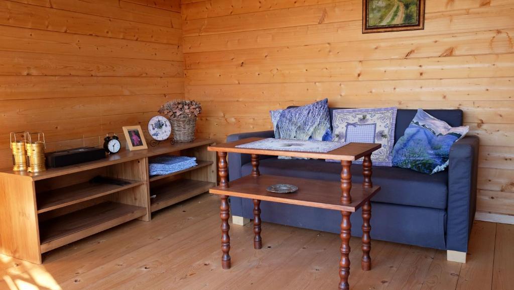 Posezení v ubytování Ubytko 96 Tučapy