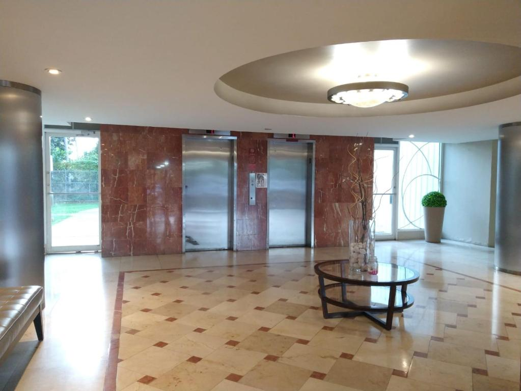 The lobby or reception area at Luxury apartment near isla verde beach