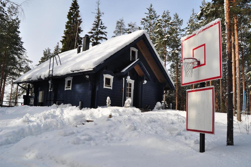 Ilmajärvi Cottage зимой