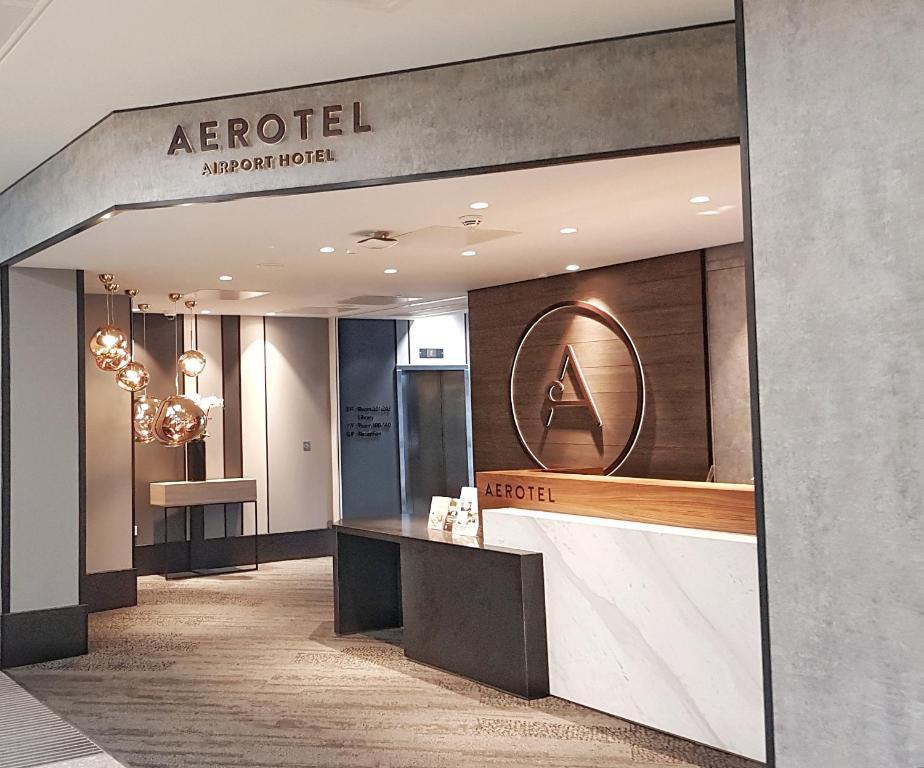 The lobby or reception area at Aerotel London Heathrow, Terminal 2 & Terminal 3