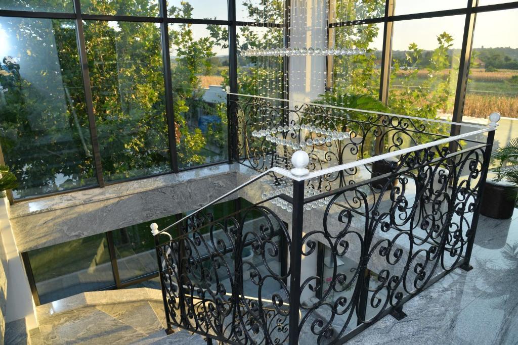 Balkon ili terasa u objektu Mesečev konak