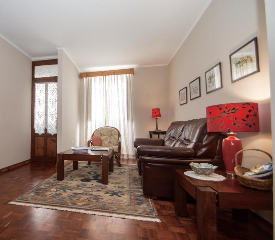 Uma área de estar em Casa da Avó - Vila do Porto