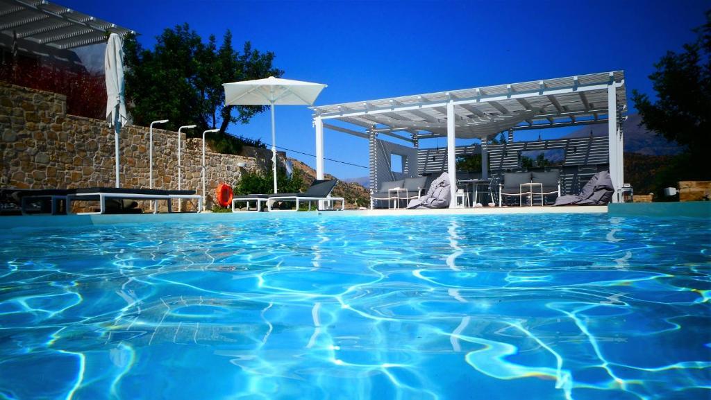 The swimming pool at or near Galini Breeze