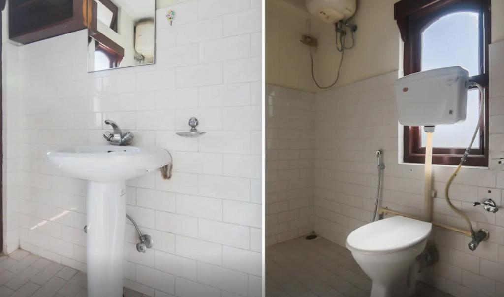 A bathroom at Kalej New vally