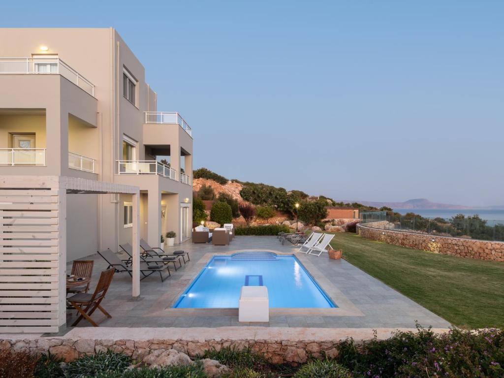Anemolia Seaview Villa, with private Pool & Garden!