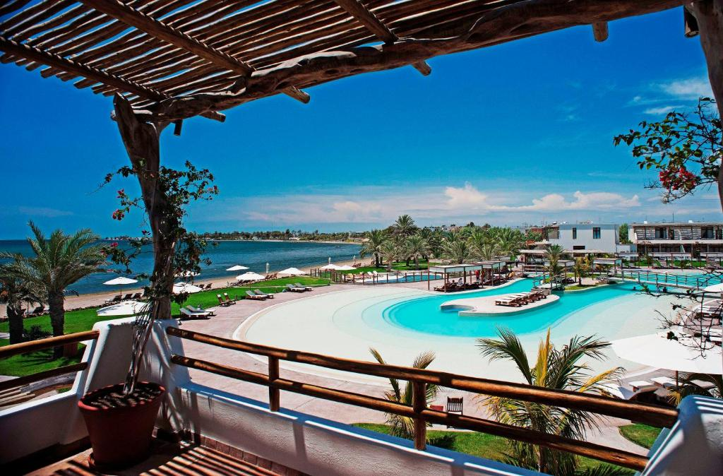 A view of the pool at La Hacienda Bahia Paracas or nearby