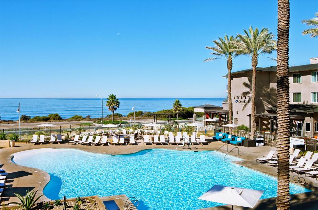 A view of the pool at Cape Rey Carlsbad Beach, A Hilton Resort & Spa or nearby